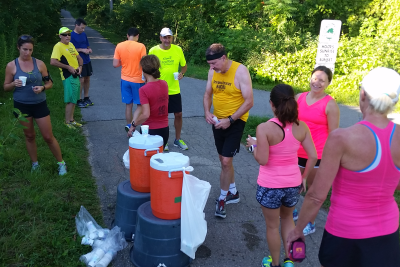 Fall Endurance Training - Water Stop
