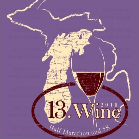 Michigan 13.Wine Half Marathon and 5K